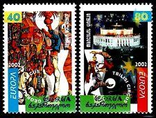 TEMA EUROPA 2002 GEORGIA El Circo 2v.