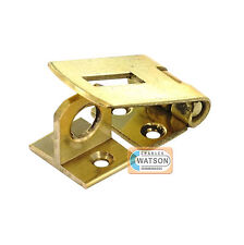 38mm/50mm/63mm/75mm BRASS HASP & STAPLE Small/Mini Door Cupboard/Cabinet Lock
