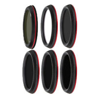 Multi-coated 43mm Lens Filters UV CPL ND Kit Set For DJI OSMO+ Gimbal Camera