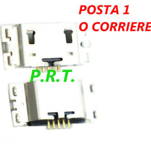 CONNETTORE RICARICA (2 pezzi ) MICRO USB per Asus ZenFone Go ZB551KL X013D