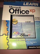 Microsoft Office Xp Interactive Turtorial 6 Cd