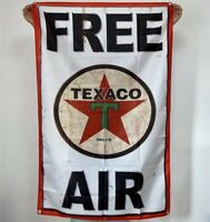 Texaco Free Air Banner Gasoline Tapestry Gas Oil Flag Fabric Poster Sign 3x5 ft