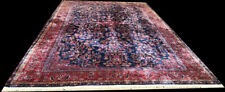 """A Magical Authentic Plush Signed Manchester Wool Keshan Rug """"Must C"""""""