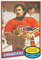 1980-81 O-Pee-Chee Richard Sevigny Rookie Montreal Canadiens #385