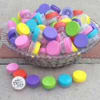 30 Pretty Color Lip Gloss JARS 1 tsp Creme Container Posh Samples 3301 DecoJars