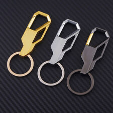 Carabiner Key Ring Alloy Metal Spring Locking Clip Chain Holder Keys Accessory