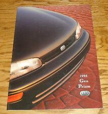 Original 1995 Geo Prizm Deluxe Sales Brochure 95