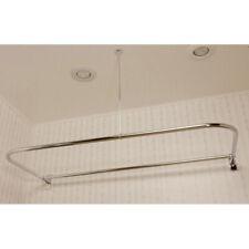 Randolph Morris Clawfoot Tub D Rod Shower Enclosure Ring - 48 x 66 Inch
