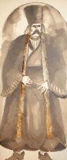 Antique painting portrait stage costume design