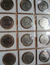 Complete Set of Canada Nickel Dollars Coins i/c Commemorative Dollar (1968-1986)