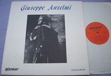 Giuseppe Anselmi 1907 - 1909 Reino Unido Rapsodia Lp histórico ópera de tenor