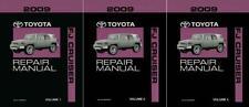 OEM Repair Maintenance Shop Manual Bound for Toyota Fj Cruiser Complete Set 2009