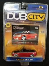 LEXUS SC430 CONVERTIBLE DUB CITY DIECAST JADA COLLECTOR #058 RARE (G4)