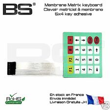 Clavier matriciel membrane matrix keyboard 4X5k Pi Arduino FR Pro Exp j+0 10146