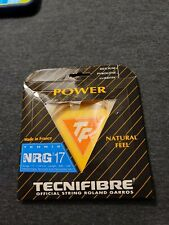 Tecnifibre NRG2 17 Gauge 1.24mm PowerTennis String NEW Natural Length 39ft Promo