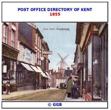 POST OFFICE DIRECTORY OF KENT 1855 CD ROM