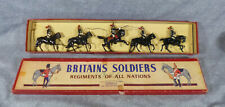 Vintage W. Britain's Mid Century The Royal Horse Guards Review Order No. 2 Set
