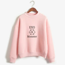 EXO Monster Print Sweater Pullover Kpop Korean Fashion Merchandise Obsession
