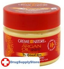BL Creme Of Nature Argan Oil Twist & Curl Pudding 11.5 oz - Two PACK