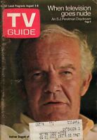 1969 TV Guide August 2 - Duggan of Lancer; Nudity; Ruth Buzzi; Sugar Ray; Sharks