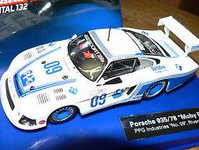 Carrera Digital 132 30578 Porsche 935/78 Moby Dick Riverside 1983 Neu