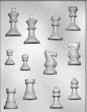 Chess Pieces Chocolate Candy Mold CK #13452 - NEW