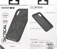 New Original Genuine TECH21 Evo Tactical Black Case Cover for iPhone X iPhone 10