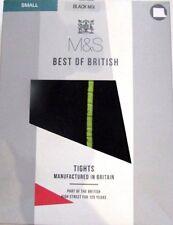 Nuevo en Caja Medias Mujer Talla Pequeña M&S Best Of British Negro Mix Verde