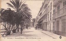 HYERES 6 LL boulevard riondet et hôtel des hespérides écrite