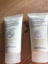 Liz Earle Intensive Nourishing Treatment face mask & brightening mask set new