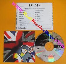 CD DISCO MESE 22 INGHILTERRA ROCK OTTANTA PROMO compilation 1995 ENO XTC (C38)