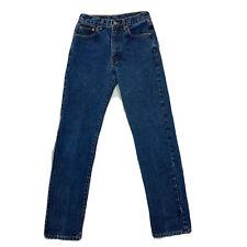 Vintage Calvin Klein Jeans Womens High Waist Straight Leg Size 3 27x31 90s Y2K