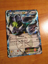 PL TORNADUS EX Pokemon Card B&W PLASMA FREEZE Set 98/116 Ultra Rare Black White