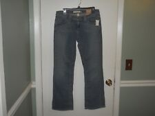 Aeropostale Ladies/Juniors Stretch Chelsea Jeans Size 9/10 Short Med Blue NWT