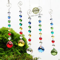 Crystal Ball Suncatcher Feng Shui Prisms Pendant Gift Hanging Drop Wedding Decor