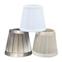 Plissee Lampenschirm Tisch Schreibtisch Lampenabdeckung Halter Kronleuchter