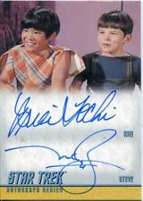 Star Trek TOS Remastered Dual Autograph DA19 Brian Tochi & Melvin Caesar Belli