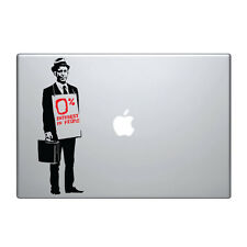 "Macbook Aufkleber Sticker Decal skin Air Pro 11"" 13"" 15"" 17"" Banksy Verkäufer"