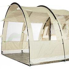 Skandika canopy Gotland 5 avance para tienda Campaña 370x240x210 cm beige nueva
