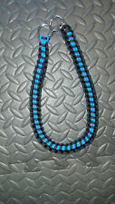 Paracord wrapped bop chains/Dog choker chain
