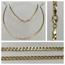 Kette 333er Gold Collier Goldschmuck Goldcollier Goldkette 53,5 cm