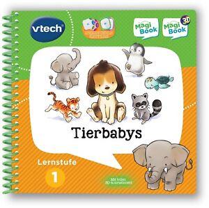 90056503-C Vtech® Buch »MagiBook Lernstufe 1 - Tierbabys« *NEU*