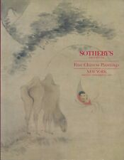 SOTHEBYS Fine Chinese Paintings Auction Catalog 1994 He Shaoji Lin Fengmian
