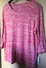 Classic Fashion women's Blouse Color Pink Studs t-shirt size Size PL