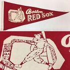 1960's Vintage Boston Red Sox Massachusetts 5x12 Mini Pennant MLB Baseball