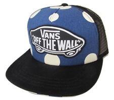 d3921b90ddaa1 Vans Off The Wall Playa Niña Azul con Lunares Gorros Nuevo Etiqueta Talla  Única