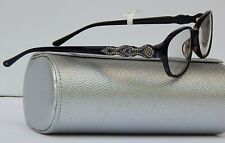 JUDITH LEIBER 1641 READERS READING GLASSES +1.00 BLACK NEW$440 AUTHENTIC JAPAN