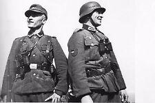 WW2 - Sergent et soldat géorgiens de l'Armée allemande en Normandie en 1944