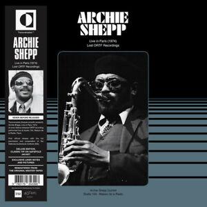 Archie Shepp - Live In Paris 1974 - Lost ORTF Recordings vinyl LP free jazz