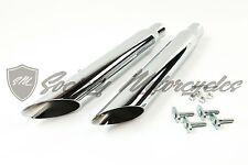 """Harley-Davidson Dyna Slash Cut Slice Cut Exhaust System 2.5"""" Straight Pipes HD"""